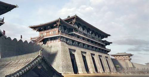 the structure of ancient chinese cities